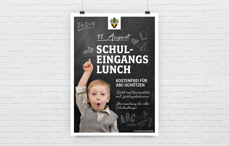 Poster schuleingang